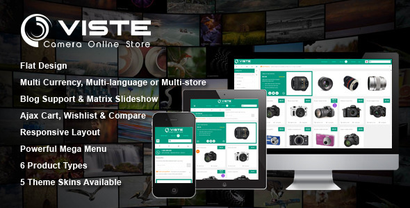 SM Viste – Responsive Multi-Purpose Magento Theme