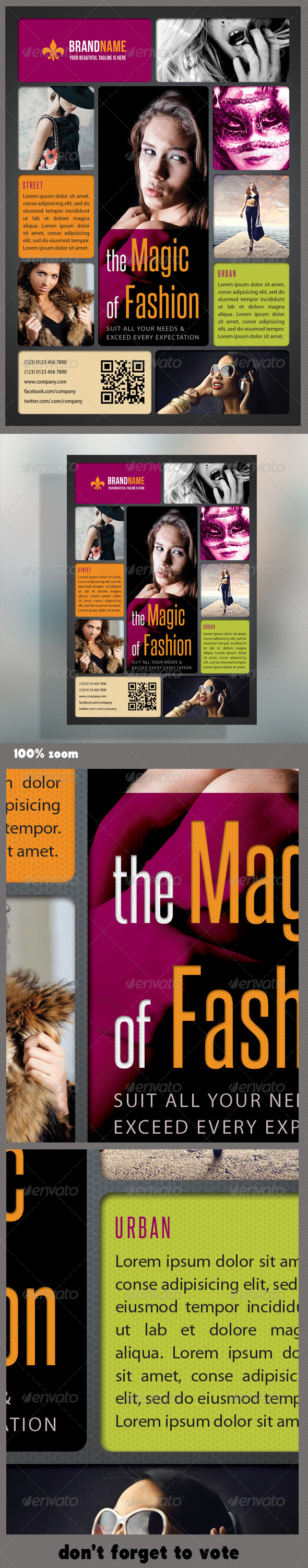 Fashion Product Flyer 11 - Events Flyers