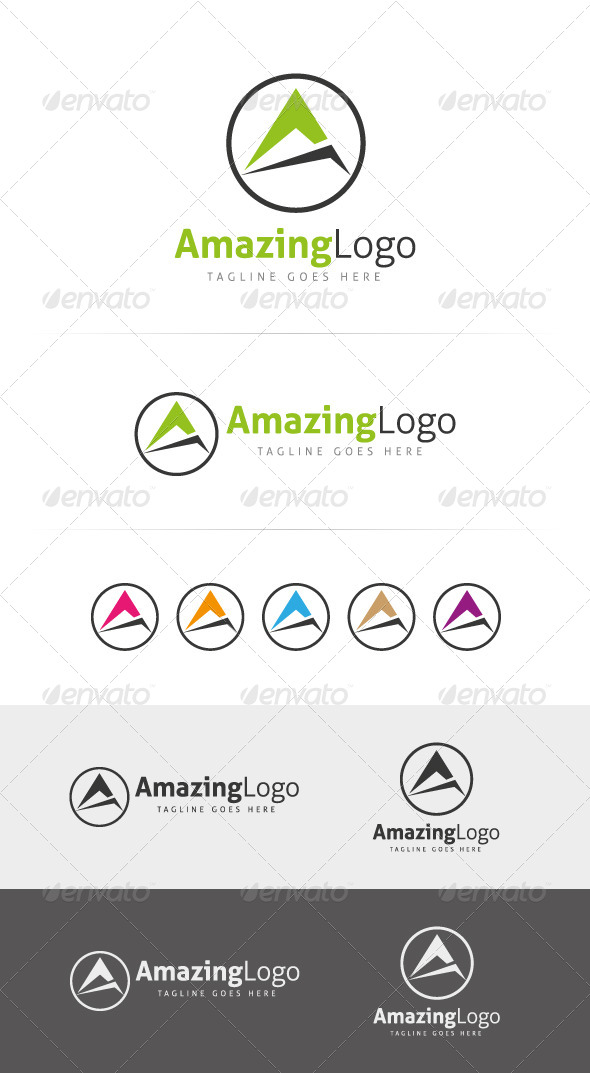 Amazing Logo Template - Letters Logo Templates