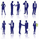 Business People Silhouettes - GraphicRiver Item for Sale