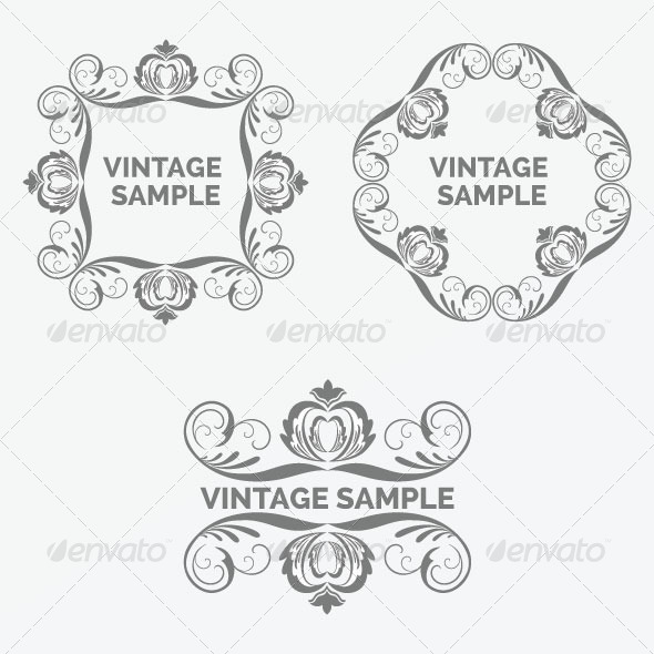 Vintage Frame 75 - Decorative Vectors