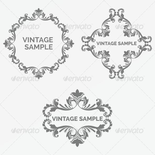 Vintage Frame 76 - Decorative Vectors
