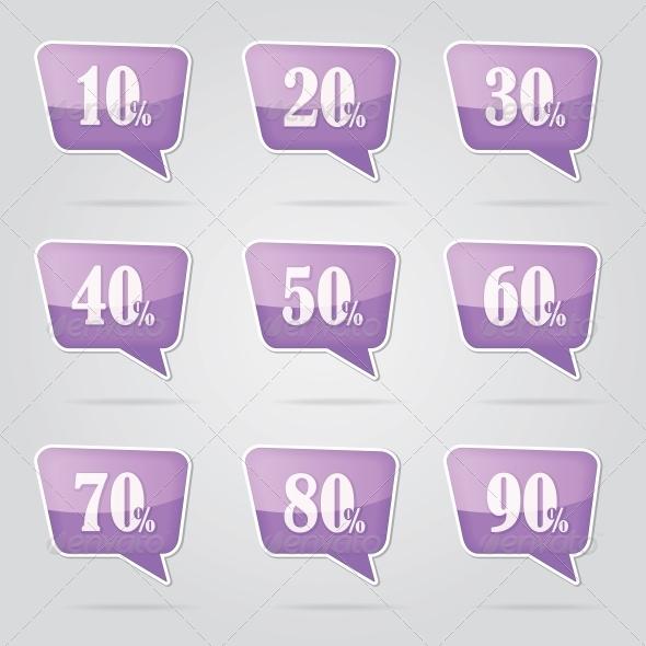 Text Bubble Sale - Retail Commercial / Shopping