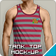 Tank Top Mockup | Men's - GraphicRiver Item for Sale