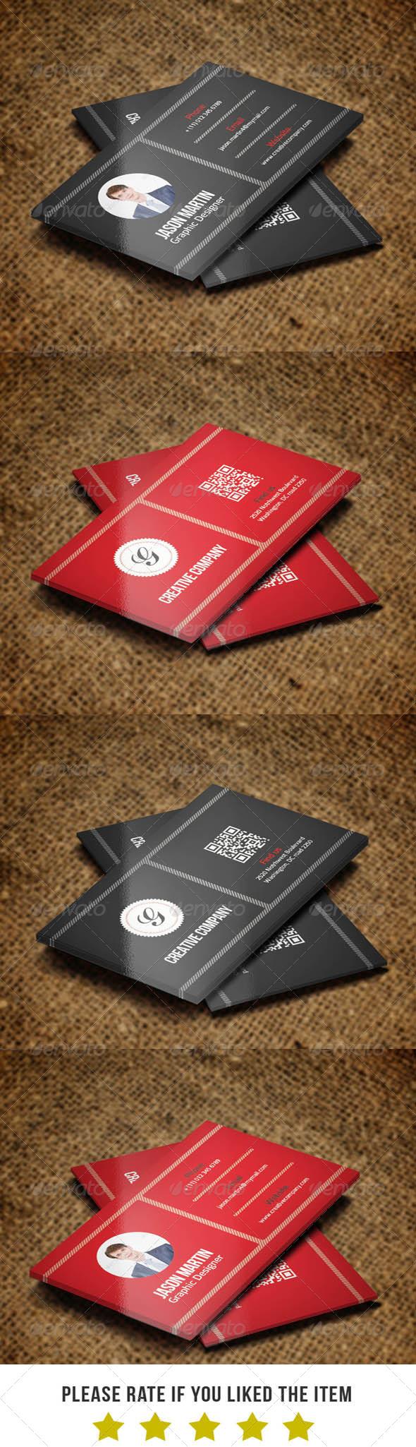 Corporate Business Card v38 - Corporate Business Cards