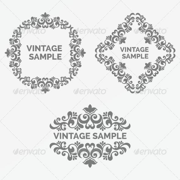 Vintage Frame 78 - Decorative Vectors