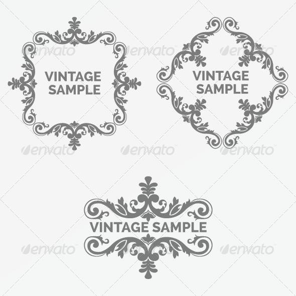 Vintage Frame 79 - Decorative Vectors