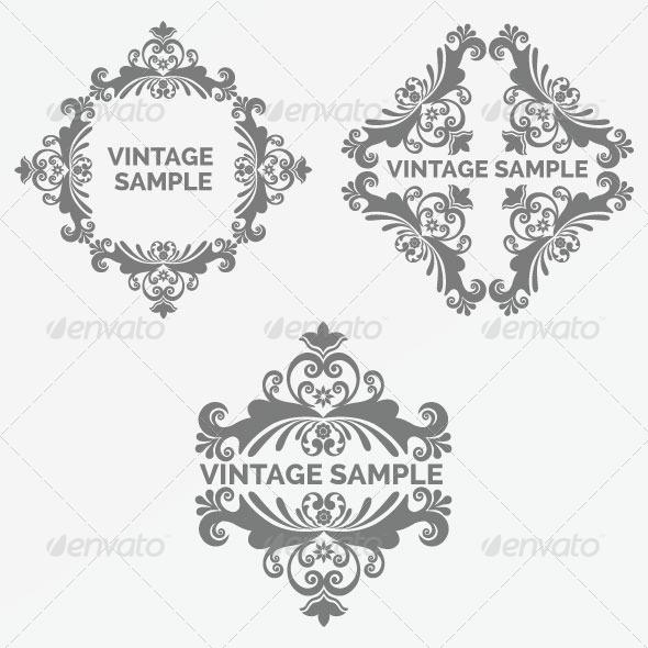Vintage Frame 80 - Decorative Vectors