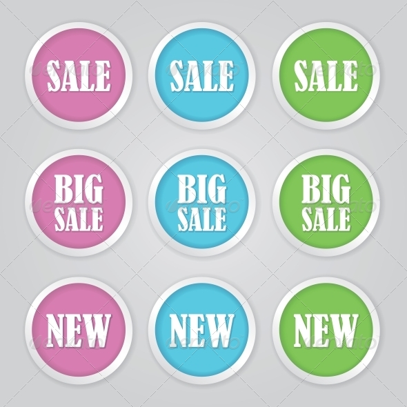 Sale Tags - Retail Commercial / Shopping