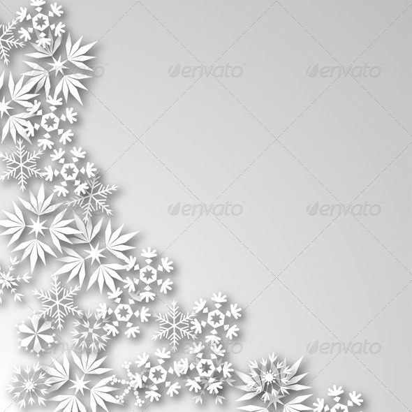 White Frost Background - Christmas Seasons/Holidays