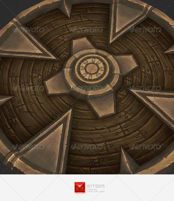 Ornament Texture Tile 01 - 3DOcean Item for Sale
