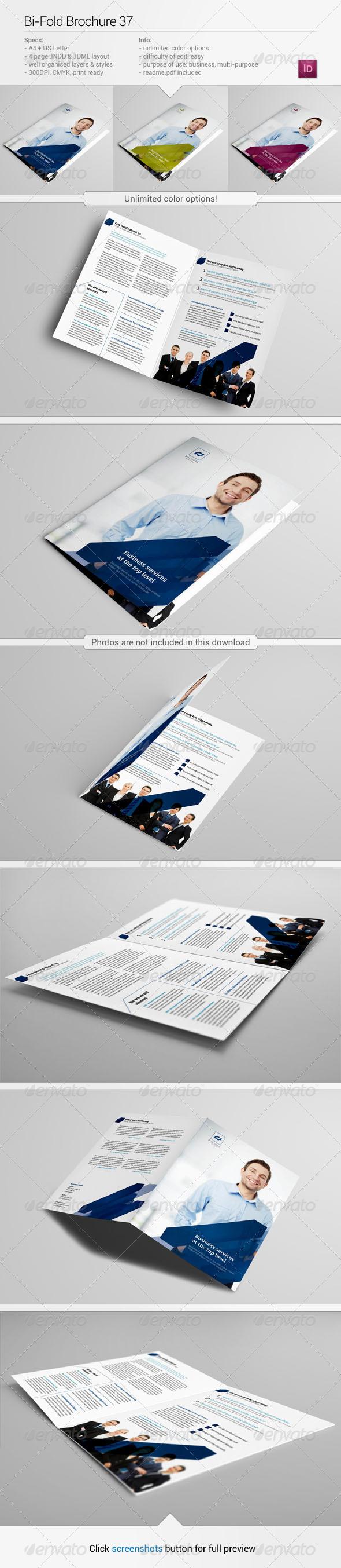 Bi-Fold Brochure 37 - Corporate Brochures