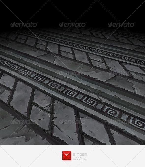 Ornament Texture Tile 02 - 3DOcean Item for Sale