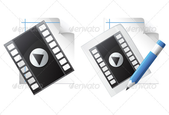 Media File Illustration - Media Technology