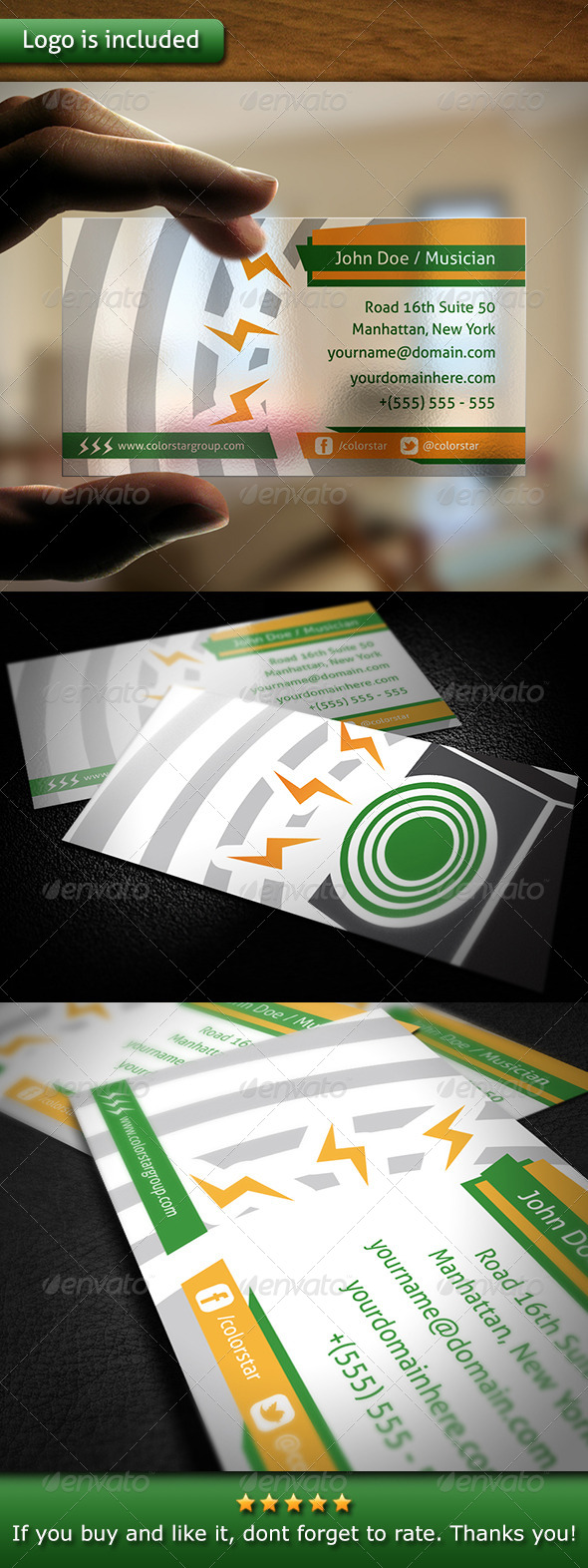 Audio Business Card - Creative Business Cards