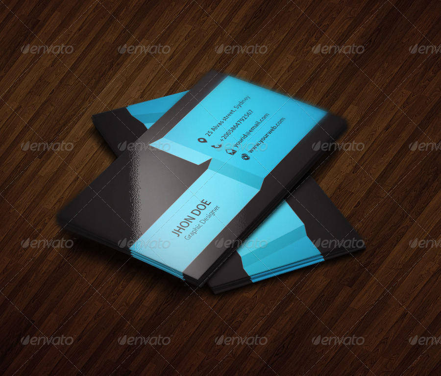 3 colors exclusive business card template by kazierfan graphicriver 3 colors exclusive business card template creative business cards 01previewg colourmoves