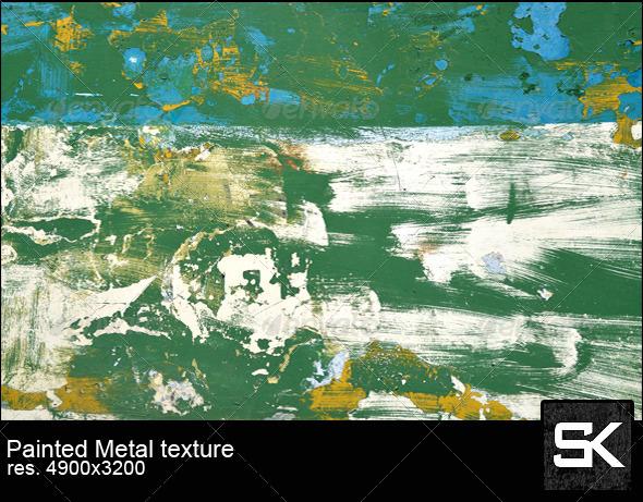Painted Sheet Metal - Metal Textures