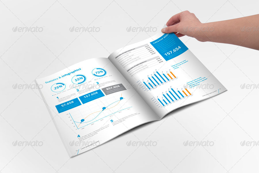 Annual report brochure indesign template by braxas graphicriver annual report brochure indesign template friedricerecipe Choice Image