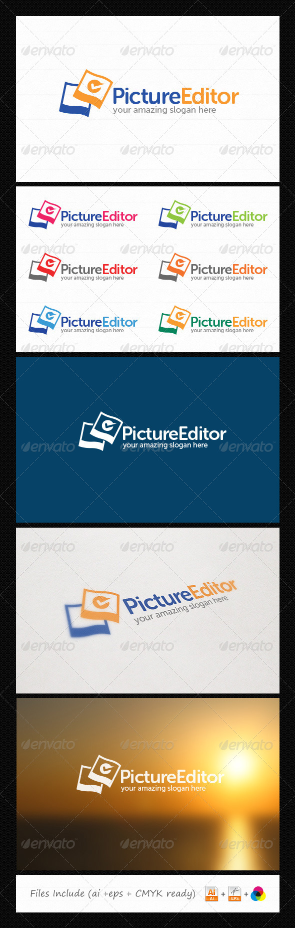 Image Editor Logo - Symbols Logo Templates
