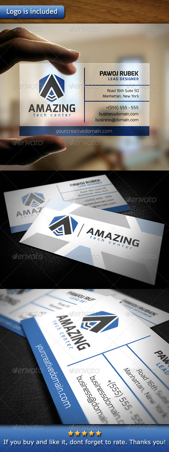 Amazing Business Card - Corporate Business Cards