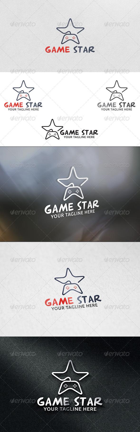 Game Star - Logo Template - Symbols Logo Templates