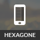 Hexagone Mobile | Mobile Template - ThemeForest Item for Sale