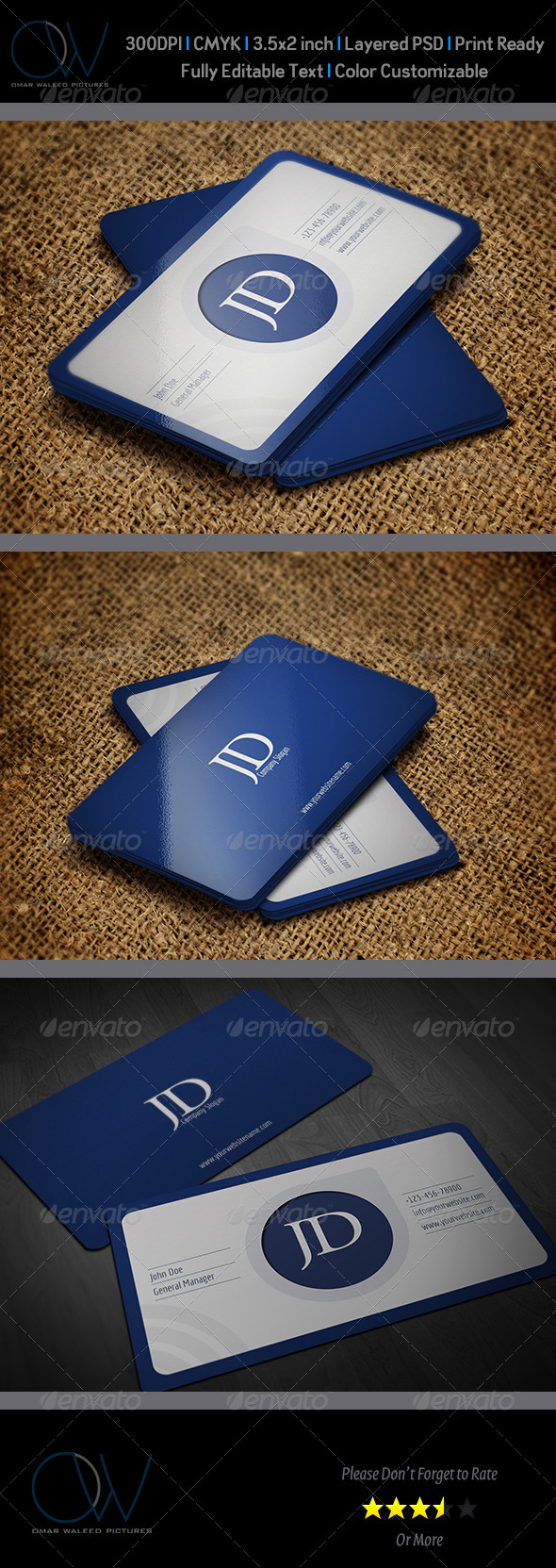 Corporate Business Card Template Vol.37 - Corporate Business Cards