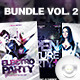 Flyer Club Party Bundle Vol. 2 - GraphicRiver Item for Sale