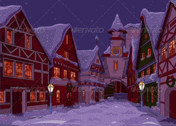 Christmas Town  - Christmas Seasons/Holidays