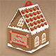 Christmas Gift Box - Gingerbread House - GraphicRiver Item for Sale