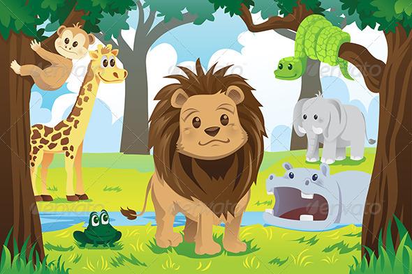 Animal Kingdom - Animals Characters