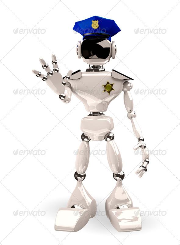 police cap - Objects 3D Renders