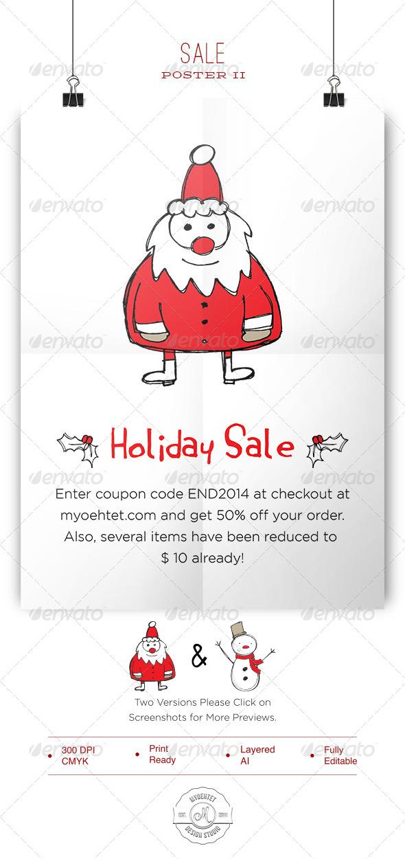 Sale Poster II - Commerce Flyers