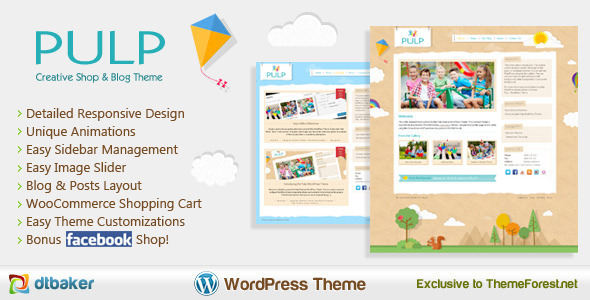Pulp Easy Creative - Easy Creative WordPress - Creative WordPress