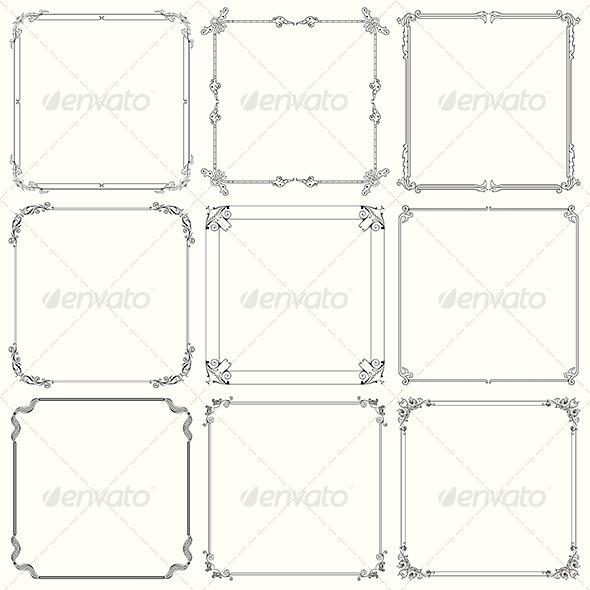 Decorative Frames - Patterns Decorative