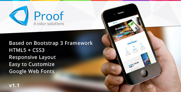 Proof – App Responsive Landing Page