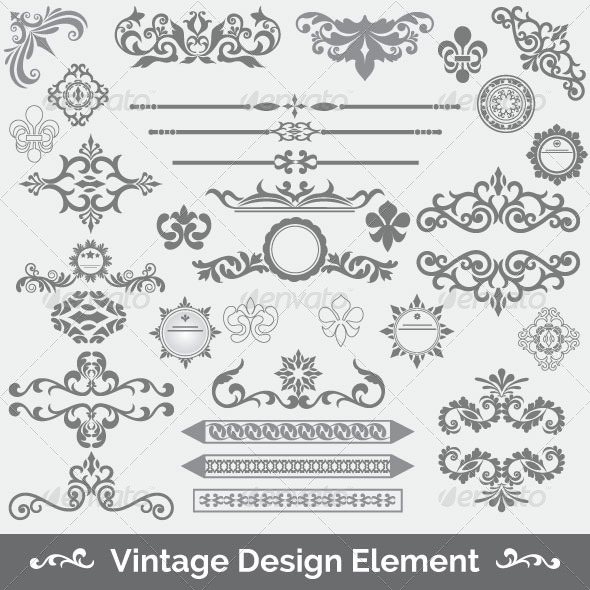 Vintage Frame 81 - Decorative Vectors