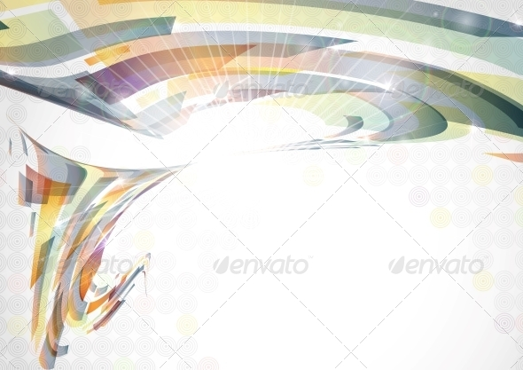 Abstract Colorful Background - Abstract Conceptual