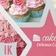 Cake / Cupcake Business Card - GraphicRiver Item for Sale