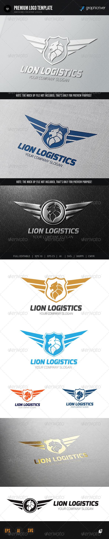 Lion Logistics Logo - Crests Logo Templates