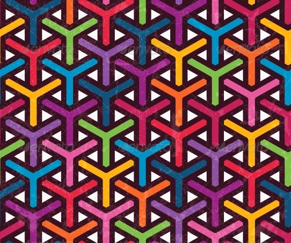 abstract geometric pattern by evdakovka graphicriver