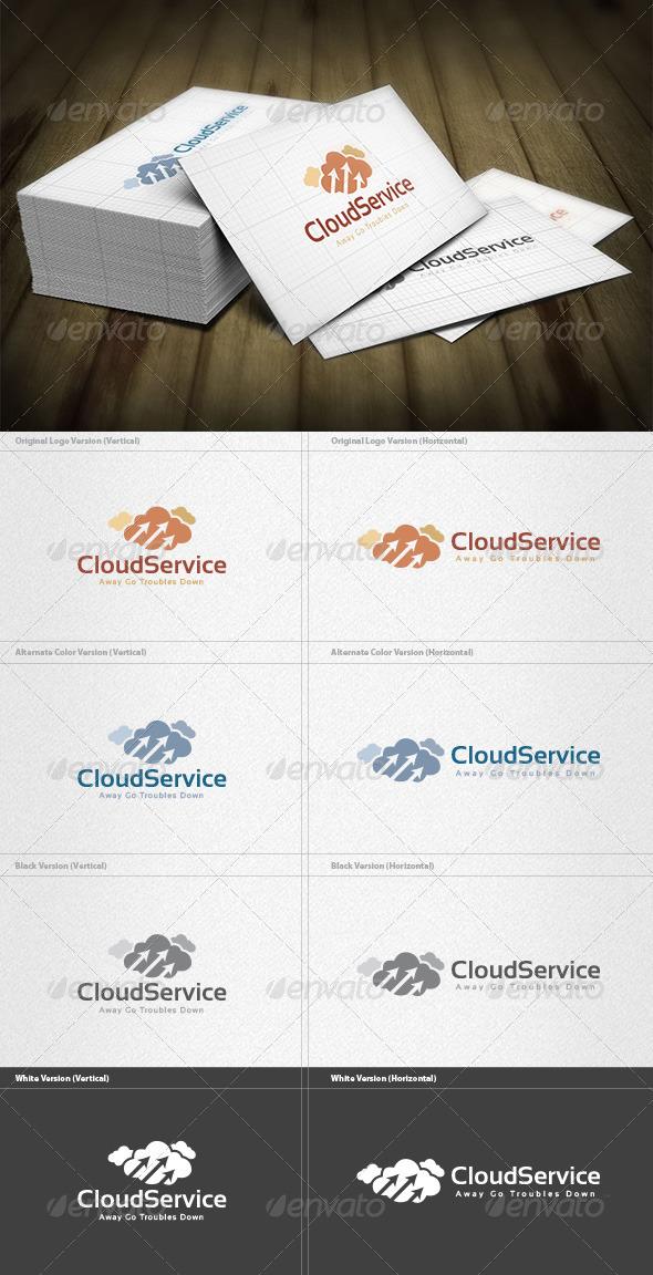 Cloud Service Logo - Symbols Logo Templates