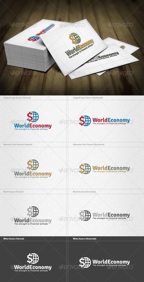 World Economy Logo - Symbols Logo Templates