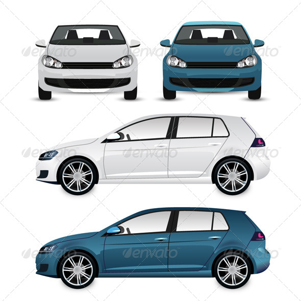 Vector Cars - Man-made Objects Objects