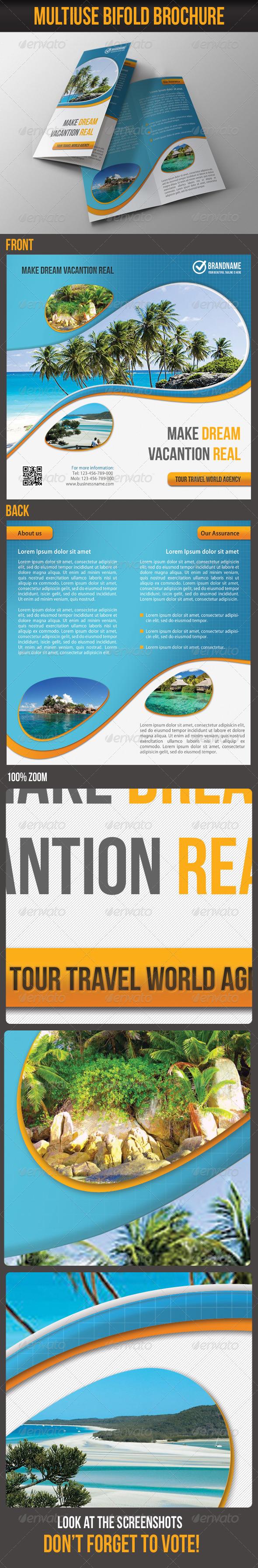 Multiuse Bifold Brochure 04 - Corporate Brochures