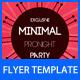 Minimal Flyer - GraphicRiver Item for Sale