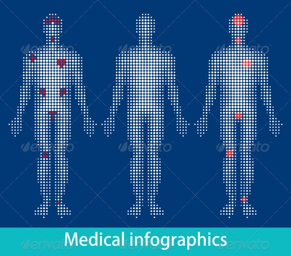 Medical Info-Graphics - People Characters