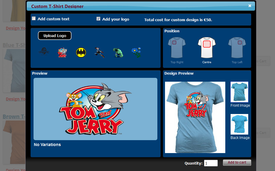 Shirt Design Maker Software | Wp Ecommerce Custom T Shirt Design Studio By Wpproducts Codecanyon