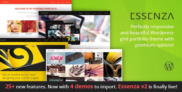 Essenza - Responsive Multi-purpose Grid Portfolio Theme