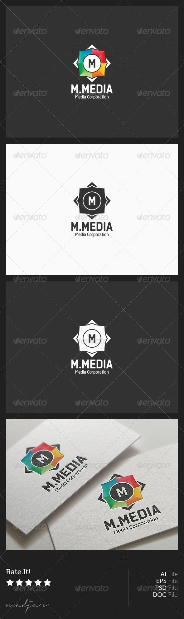 Multimedia Logo - Symbols Logo Templates